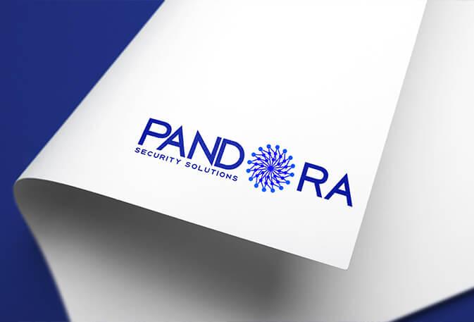 Pandora Security Solutions Logo Concept, Design & Layout