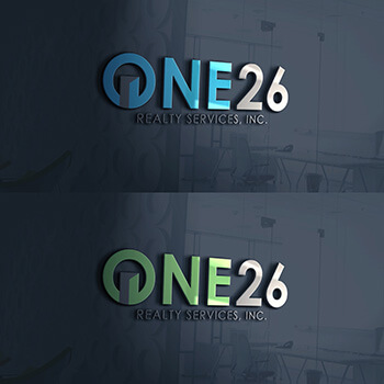 One 26 Realty Services, Inc. Logo Design