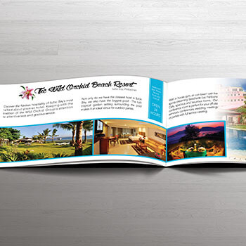 Wild Orchid, Subic Brochure Mockup