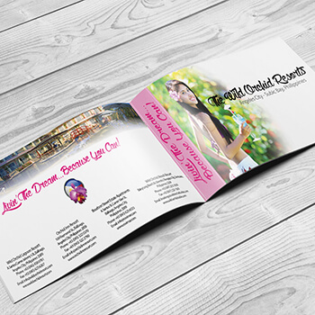 Wild Orchid Group Brochure Mockup